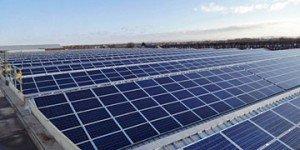Bentley Factory solar roof
