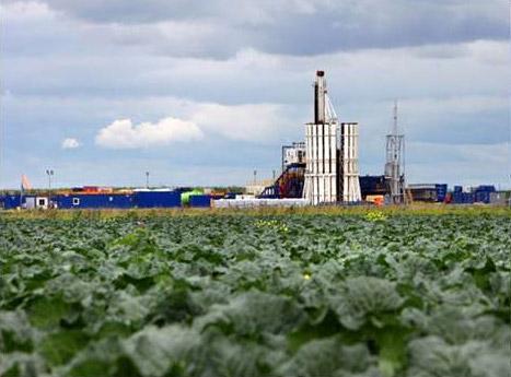 Balcombe Fracking site. Photo Frack-Off