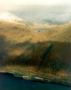 Cruachan aerial view