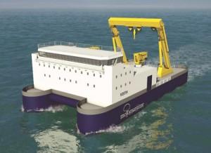 HF4 Advanced vessel for marine energy operations