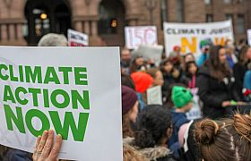 Thumbnail : UN survey of public opinion on climate change: the majority call for more action