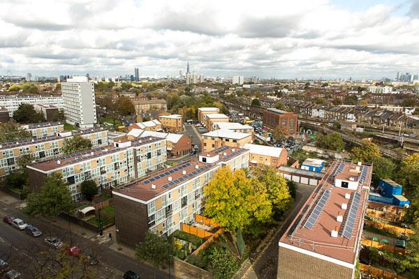 Styles Gardens in Brixton. Photo: Repowering London