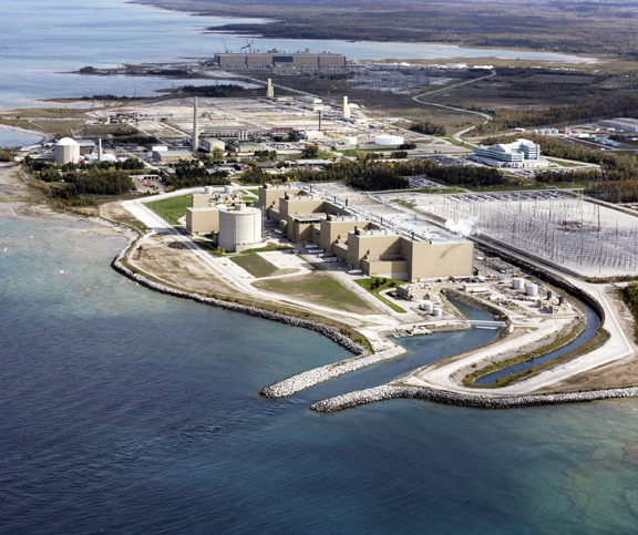 Bruce Nuclear Power Plant in Canada. Photo by Bruce
