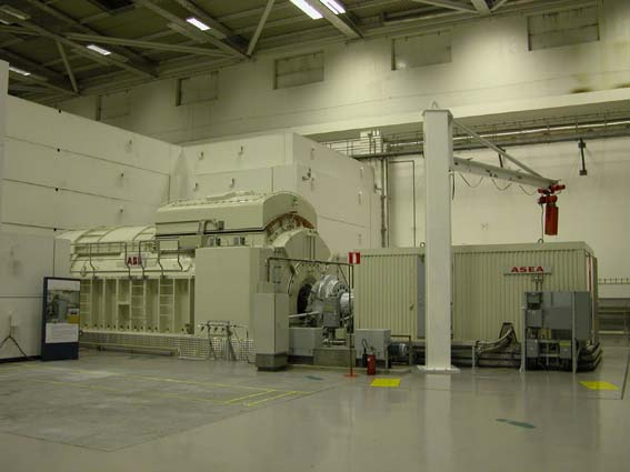 Turbine Hall at Olkiluto 2. Photo TVO