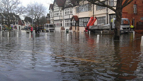 Datchet, near Windsor. Photo: The Environment Agency