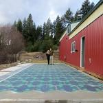 Solar Parking Lot facing East