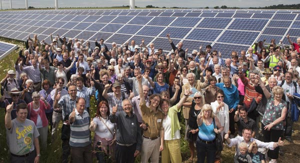 Westmill Solar Farm and its cooperative shareholders